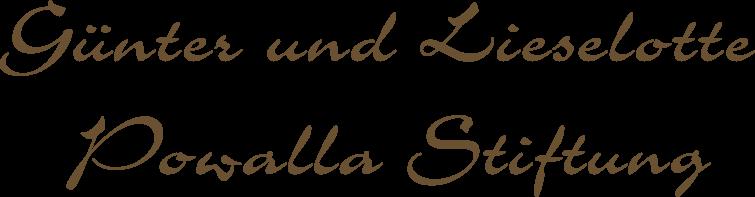 Günter und Lieselotte Powalla Stiftung – Eine Stiftung für Seniorenbetreuung Logo